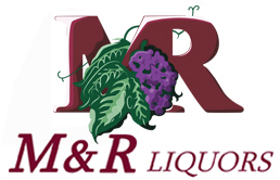 M&R Liquors logo.